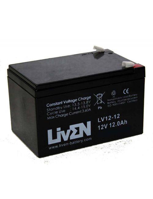 Batería 12V 12Ah Liven serie LV