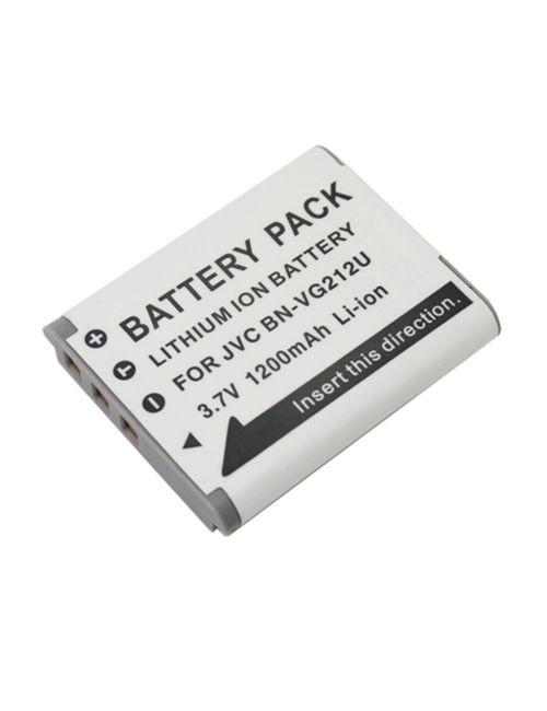 Batería JVC BN-VG212 compatible 1200mAh Li-Ion