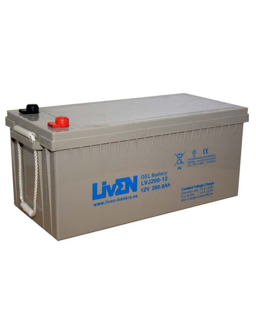 Batería de gel 12V 200Ah LIVEN SERIE LVJ