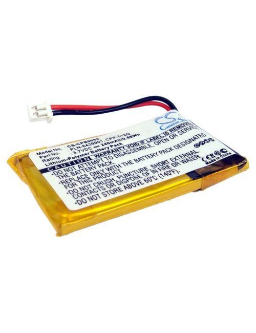 Batería para Plantronics C65, CS55, CS361, HL10... 65358-01 compatible 240mAh Li-Po