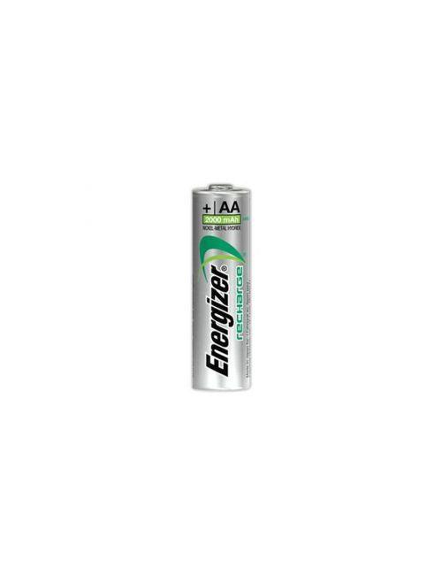 Pila recargable AA, HR6 2000mAh NI-MH precargada Energyzer Recharge