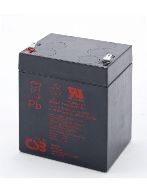 Batería de plomo 12V 5Ah CSB serie GP