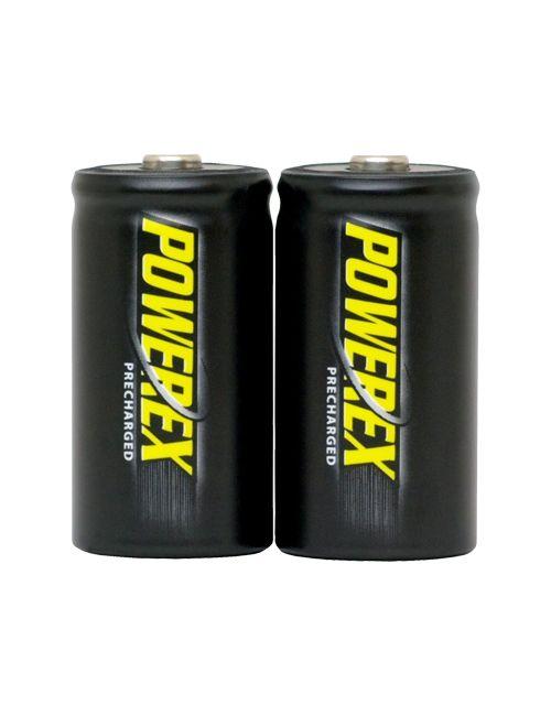 Pilas recargables C 5000mAh Ni-Mh Precharged Powerex (Blister 2 unidades)