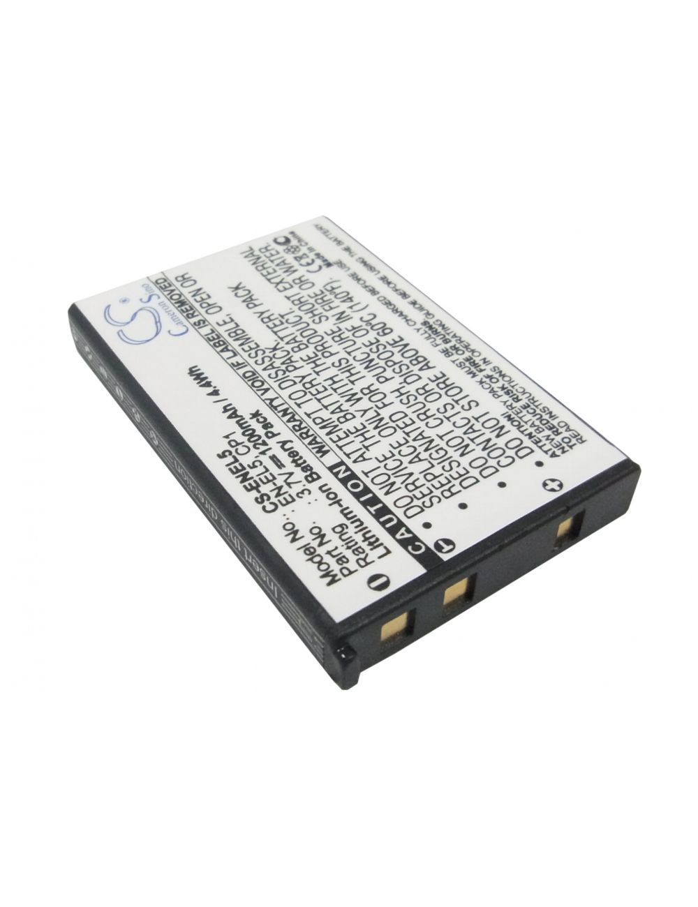 Batería Nikon EN-EL5 3,7V 1200mAh Li-Ion