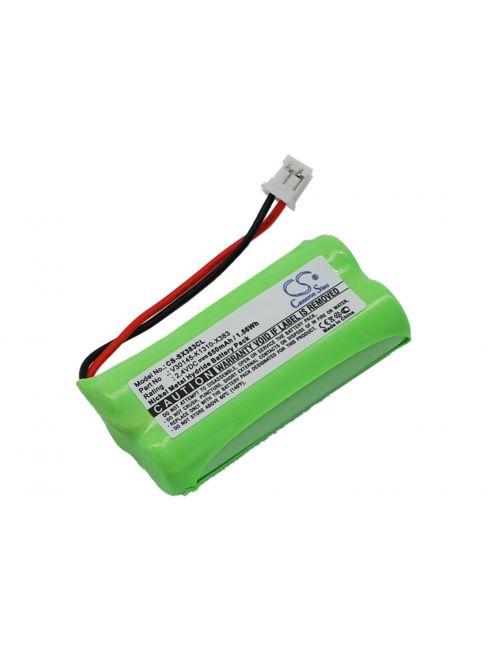 Batería Siemens C30852D1640X1, S30852-D1640-X1, V30145-K1310-X359, V30145-K1310-X383 compatible 2,4V 650mAh Ni-Mh
