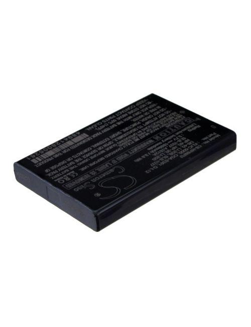 Batería para Toshiba Camileo H10, H20, HD, P10, P20, P30, Pro HD... PDR-BT3, PA3792U-1, PX1425E-1BRS 3,7V 1050mAh Li-Ion