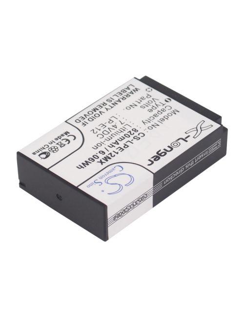 Batería Canon LP-E12 compatible 7,4V 820mAh Li-Ion
