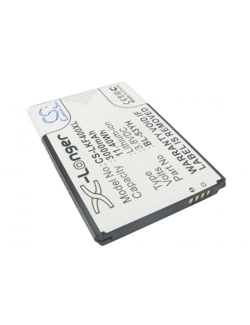 Batería para LG G3. BL-53YH compatible 3,8V 3000mAh Li-Ion