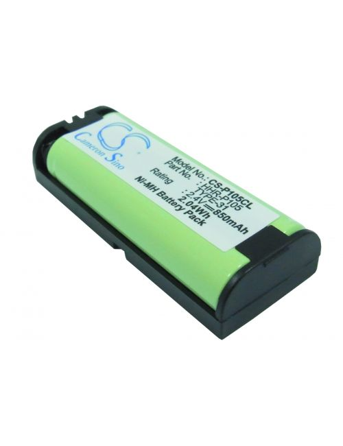 Batería Panasonic HHR-P105, TYPE 31 compatible 2,4V 850mAh Ni-Mh