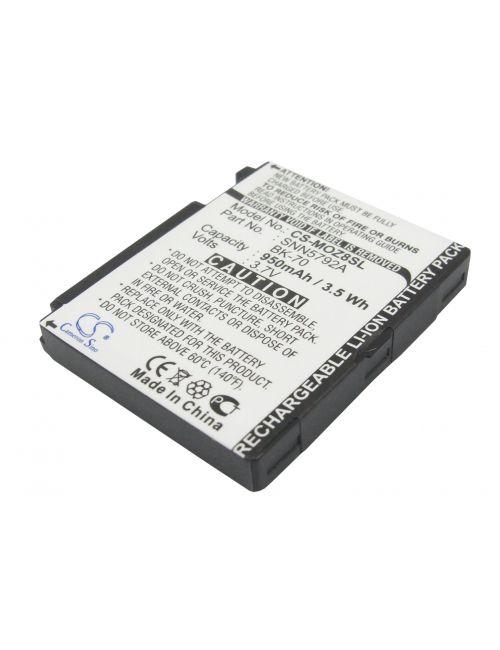 Batería Motorola BK-70 3,7V 950mAh Li-Ion