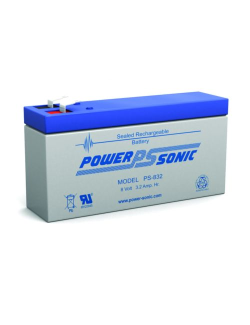 Batería de plomo 8V 3,2Ah Powersoni serie PS