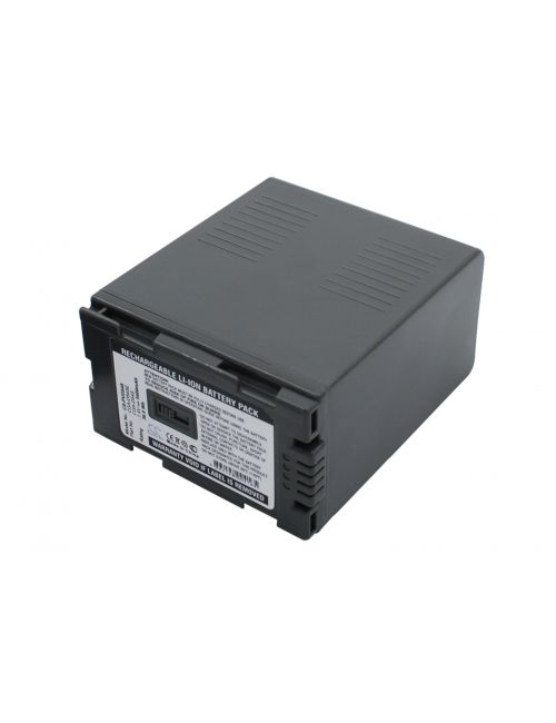Batería para Panasonic NV-MX5, NV-GX7, NV-DS30, AG-HVX200, AG-DVX100, AG-DVC80, AG-DVC60, AG-DVC30... CGR-D54S compatible5400mAh