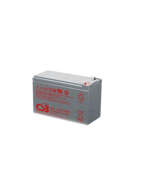 Batería 12V 8,5Ah 34W/celda CSB serie HRL