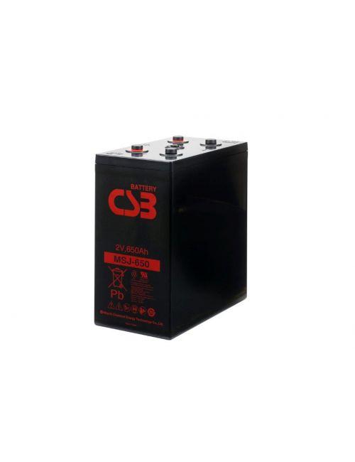Batería 2V 660Ah CSB MSJ650
