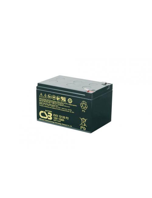 Batería 12V 12Ah CSB serie EVX