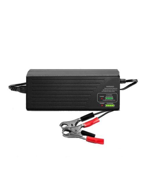 Cargador para baterías de plomo 36V 1,8Ah automático con indicador de carga
