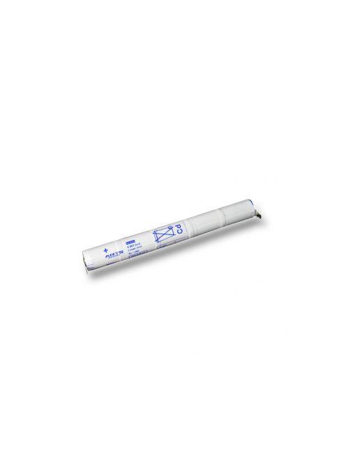 Bateria para iluminación de emergencia de 6V 1,6Ah Ni-Cd con terminales faston