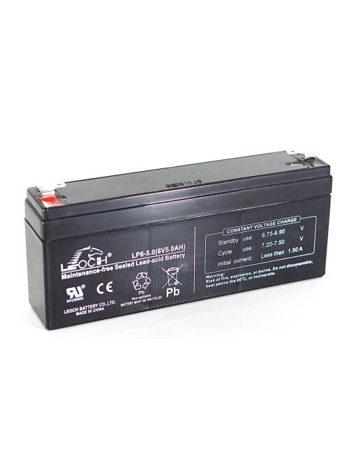 Batería para balanza digital 6V 5Ah Leoch serie LP