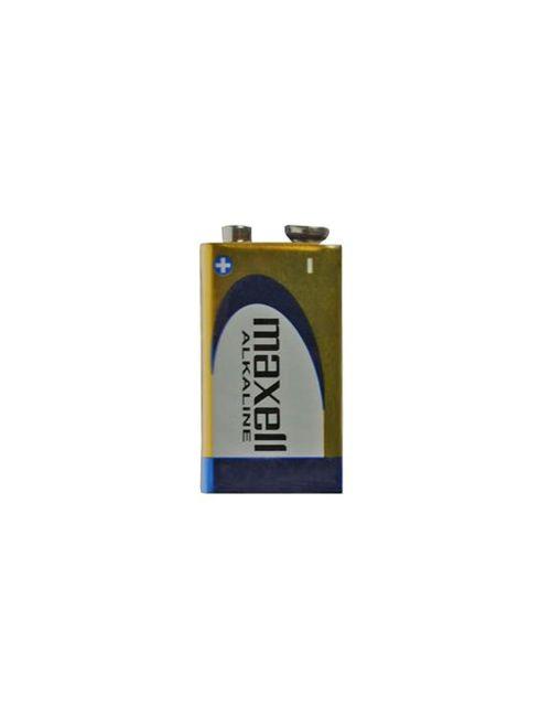 Pila 9V alcalina 6LR61, MN1604 Maxell Alkaline (blister 1 unidad)