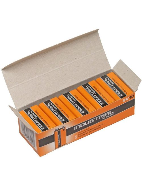 Pila 9V alcalina 6LR61, 6LF22, 6LP3146, MN1604 Industrial Duracell
