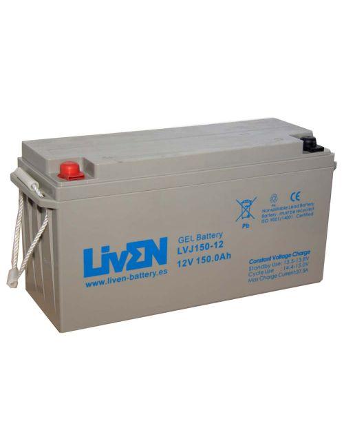 Batería de gel 12V 150Ah Liven serie LVJ