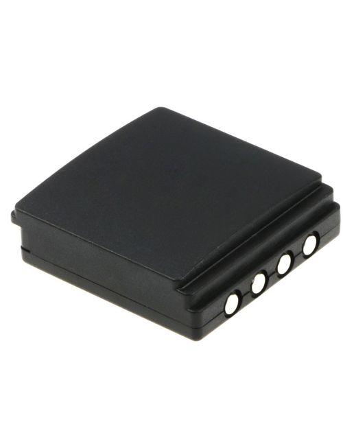 Batería HBC Radiomatic FUB9NM, FB FUB09N, BA209000, BA209060, PM237745002 6V 700mAh