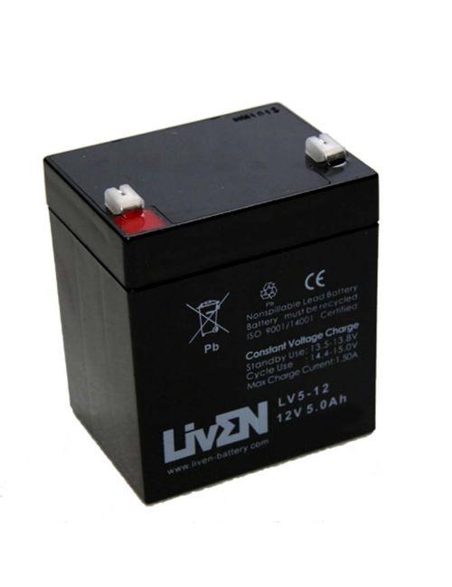 Batería para SAI 12V 5Ah Liven serie LV