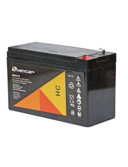 Batería para SAI 12V 7,2Ah Heycar HC12-7.2