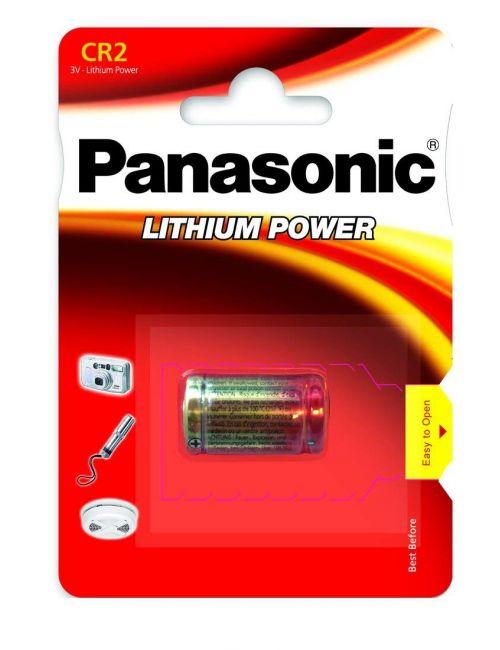 CR-2 pila de litio 3V Panasonic