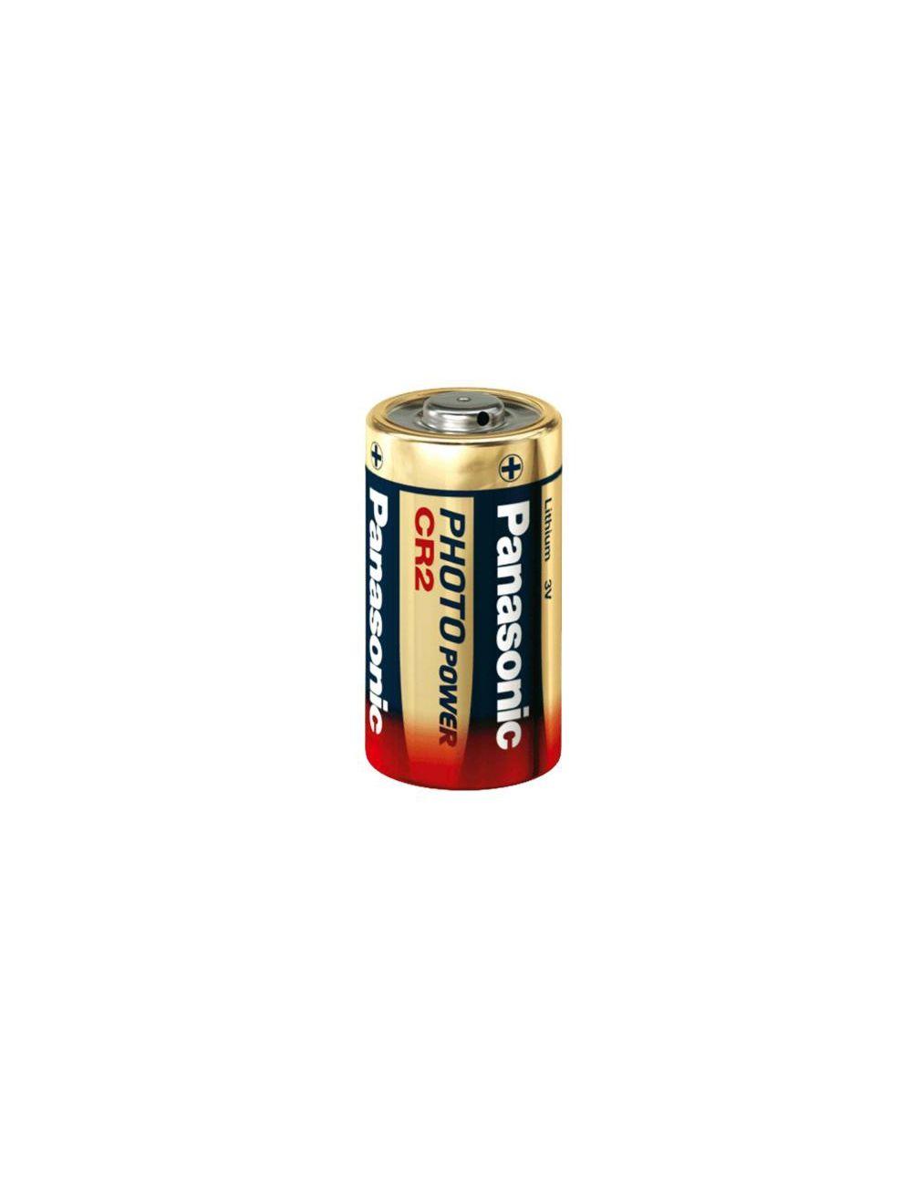 6 stk Panasonic CR 2 litio photo batería 3 voltios 6x