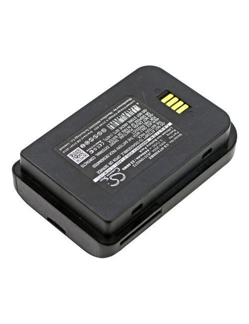 Batería para Handheld Nautiz X5 eTicket. NX5-2004 3,7V 6400mAh