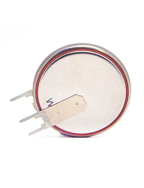 Pila litio 3V CR-2430 Renata con pines 2+1 vertical para circuito impreso
