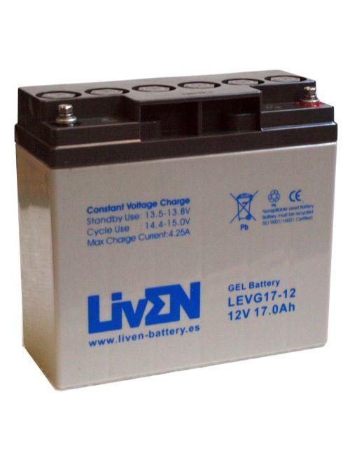 Batería de Gel 12V 17Ah LivEN serie LEVG