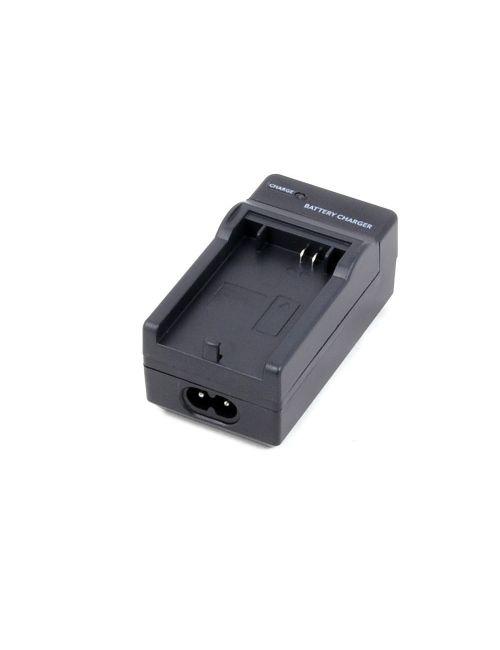 Cargador para Casio NP-20 y NP-20DBA, automático, con control de carga y adaptador para coche a 12V.