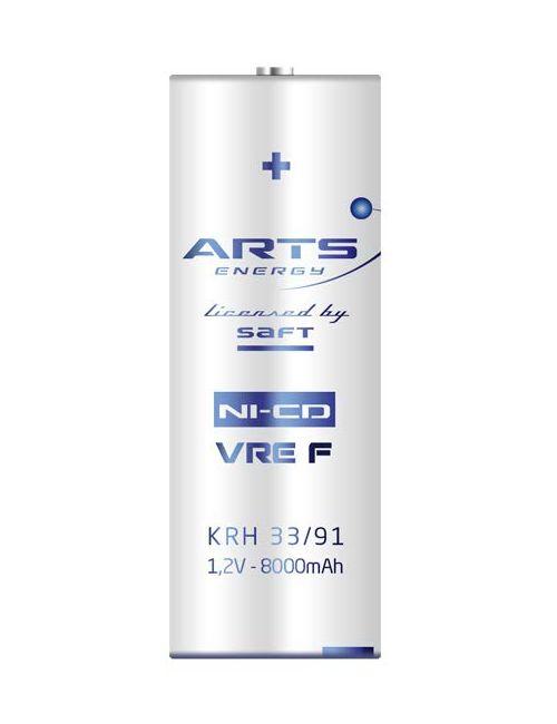 Batería F 1,2V 8000mAh NI-CD ARTS Energy serie VRE