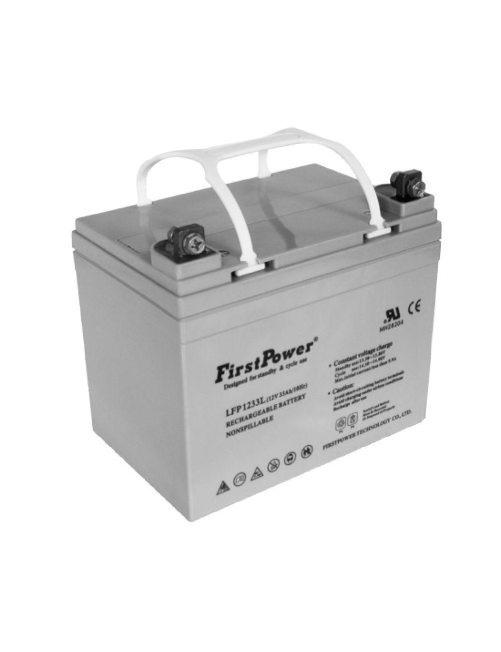 Batería de gel 12V 33Ah First Power serie LFP