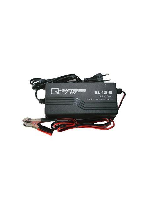 Cargador 12V 5Ah para baterías de plomo AGM y Gel