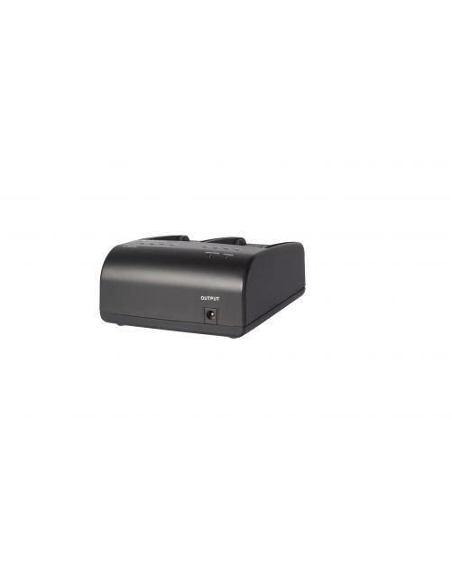 Cargador doble para SONY BP-U30/60/90 y SWIT S-8U63/65/65 y LB-SU98 con adaptador DC12V y alimentación para videocámaras.