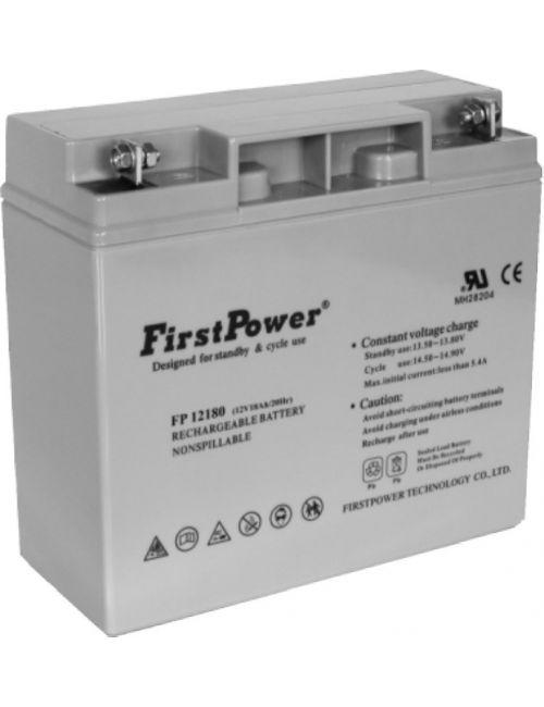Batería 12V 18Ah First Power serie FP