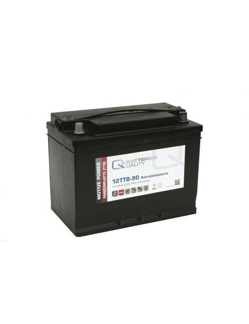 Batería 12V 90Ah C20 Q-Batteries serie TTB