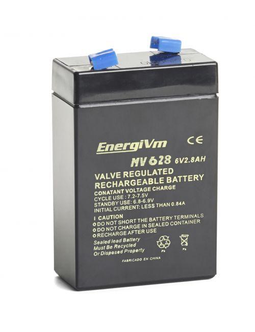 Batería 6V 2,8Ah EnergiVm serie MV
