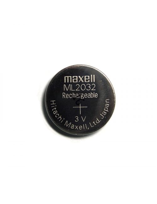 ML2032 pila litio 3V 65mAh recargable Maxell