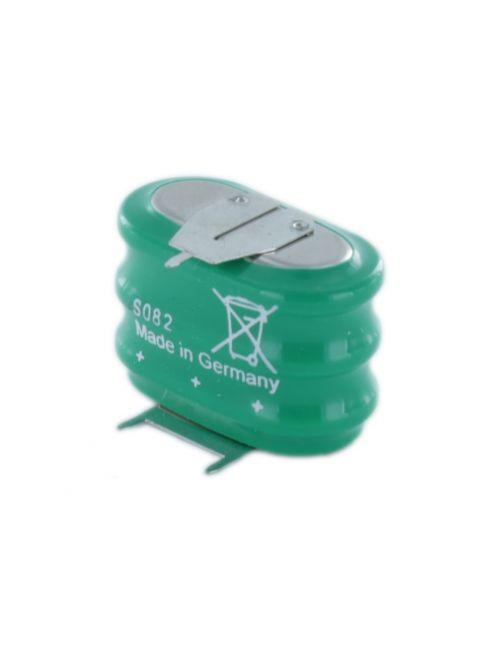 Batería 3,6V 150mAh Ni-Mh VARTA 3/V150H con pines 2+1 para circuito impreso