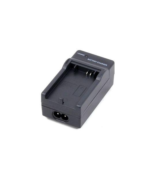 Carregador para PANASONIC CGS-S005 y DMW-BCC12, automático, com controle de carga e adaptador para carro de 12V.