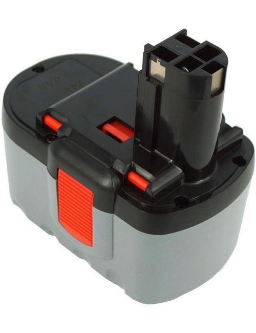 Batería para taladro Bosch 24V 3000mAh Ni-Mh BAT030, BAT031, BAT240,  2 607 335 561