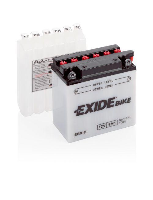 Batería moto 12V 9Ah EB9-B EXIDE Conventional