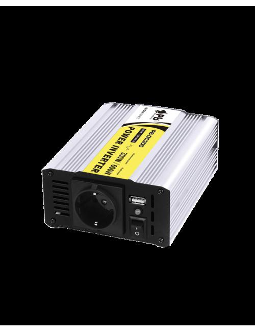 Inversor 12Vcc a 220Vca 300W 50Hz onda senoidal modificada.