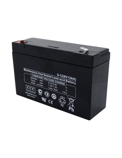 Batería 6V 12Ah Premium Battery PB6-12