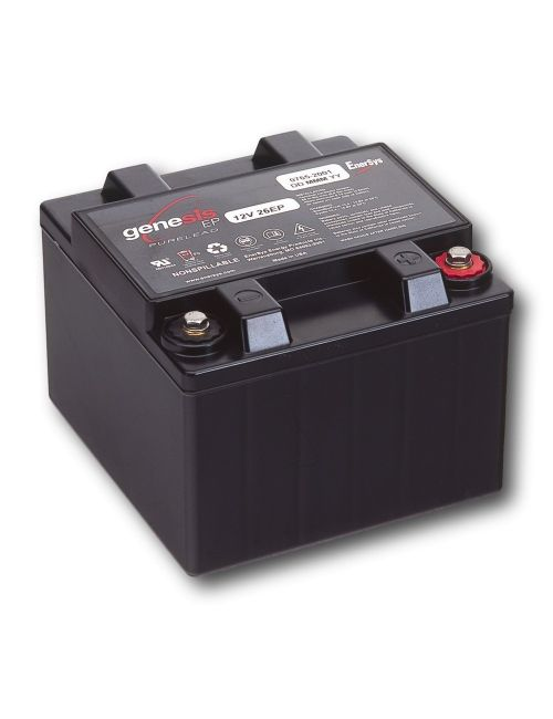 Batería para arrancador o booster de 12V 26Ah Genesis serie EP