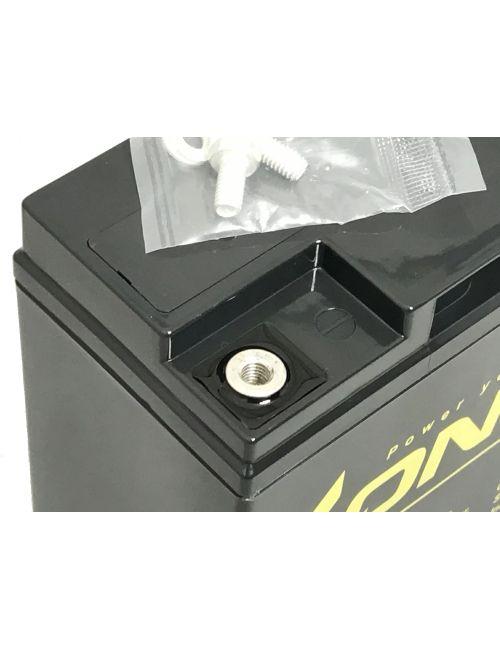 Pack 2 baterías para Invacare Colibrí de 12V 22Ah LONG serie WP